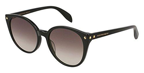 Alexander mcqueen occhiali da sole am0130s // 001-black-black-grey