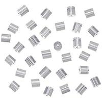 Homiki–Juego de 144topes para pendientes, plástico