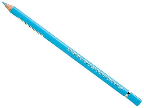 Faber-Castell Polychromos 110145 – Lápiz de color (Fijo, Madera, Azul, Azul, Alrededor)