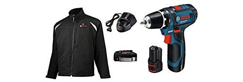 Preisvergleich Produktbild Bosch Professional 10 Heat+Jacket 10,8V Basic-M+GSR 10,8, XL