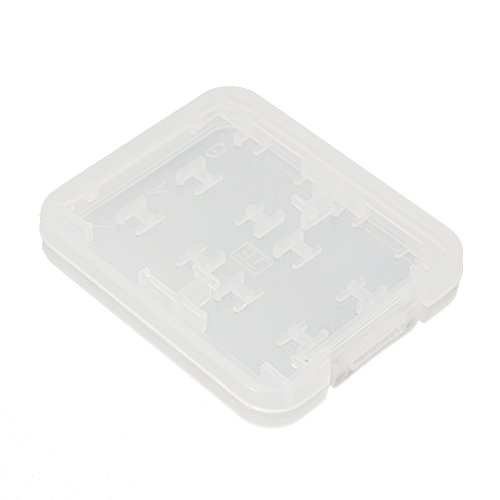 Memory Card Box - TOOGOO(R)8 in 1 Plastic Micro SD SDHC TF MS Memory Card  Storage Case Box Protector Holder