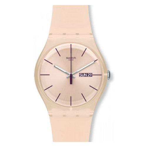 swatch-womens-quartz-watch-rose-rebel-suot700-with-plastic-strap