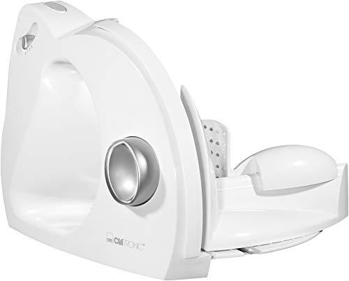 Clatronic AS 2958 - Cortafiambres con corte ajustable, 180 W, color blanco