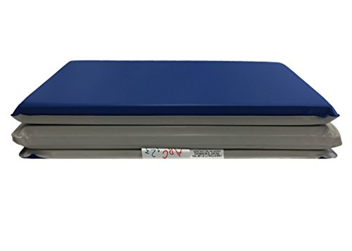 KINDERMAT TODDLER BLUE/GRAY  75 X 21 X 46 BY PEERLESS