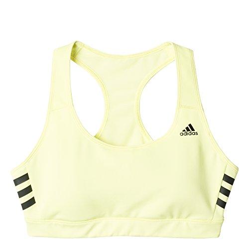 Adidas soutien-gorge de sport pour femme avec dos nageur a cup b Jaune/noir - Jaune/Noir