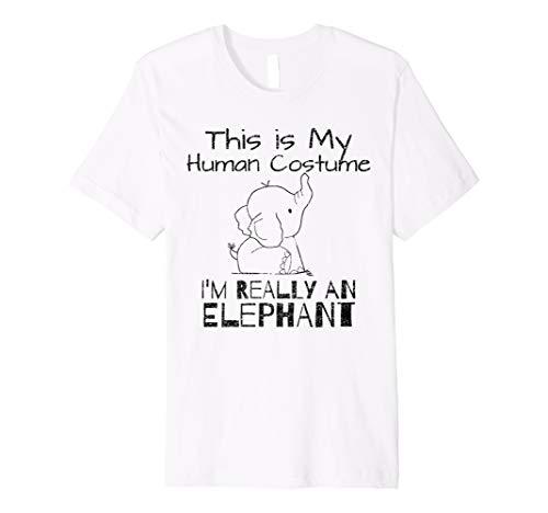 Kostüm, Ich bin wirklich ein Elefant T-Shirt ()