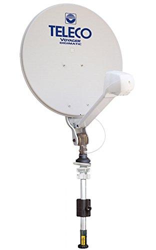 Antena parabólica tv satélite caravana autocaravana