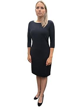Marc O´Polo Grey Line Damen Kleid in einem wunderschönen dunkelblau Herbst Winter I Damenbekleidung I Businesskleid