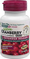 Natures Plus Ultra Cranberry (Natures Plus EXTENDED RELEASE CRANBERRY 1500MG TABLETS 30)