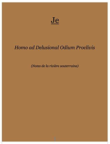 Couverture du livre Homo ad Delusional Odium Proclivis