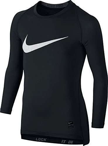 Nike Kinder Pro Compression Unterhemden, Black/Anthracite/White, XS