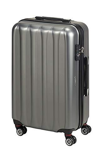 Princess Traveller Hollywood Polycarbonate TSA Lock Traveller Laptop Rollkoffer, 63 Liter, Anthracite