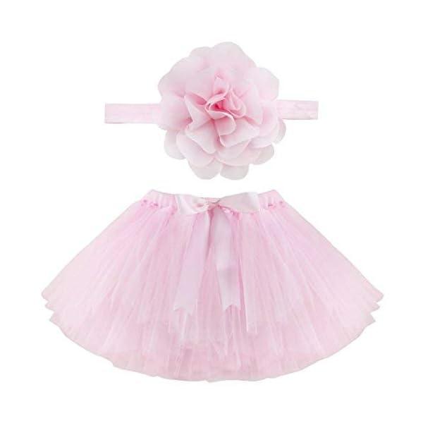 Musuntas apoyo de la fotografía del bebé, traje del bebé, foto del bebé trajes Fotografía traje de la falda del tutú de… 1