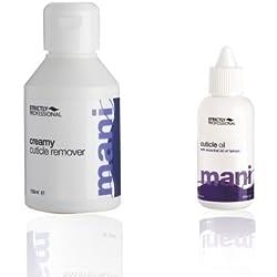 Estrictamente profesional aceite para cutículas + cremoso cutícula Remover