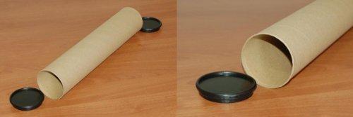 30 Versandrollen Durchmesser: 8cm Länge: 100cm