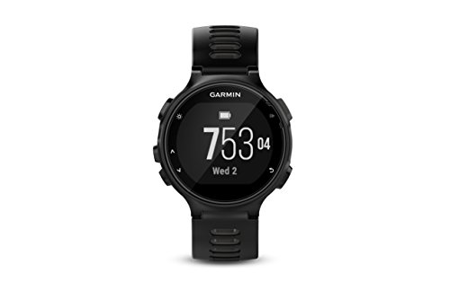 Garmin Forerunner 735XT Multisport Watch (Black and Grey)