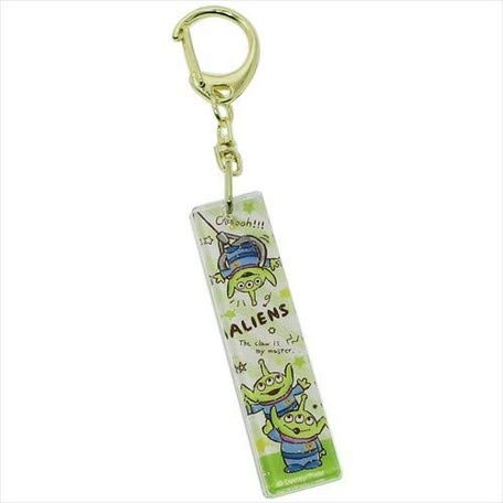 """Collection"" Toy Story Alien acrylic stick Keychain/Toy Story Alien acrylic stick Keychain"