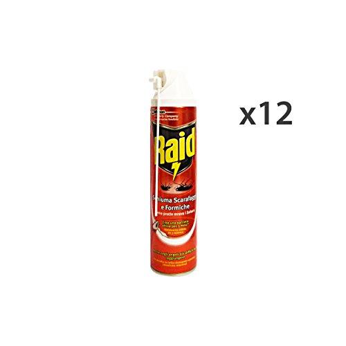 set-12-raid-scarafaggi-formiche-schiuma-400-ml-articoli-per-insetti