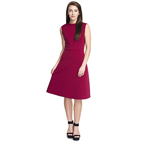 ADDYVERO Women A-line Maroon Dress