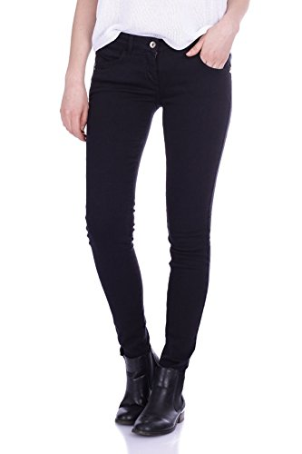 Jeans Patrizia Pepe 5 tasche in canvas di cotone nero super slim - Nero 27