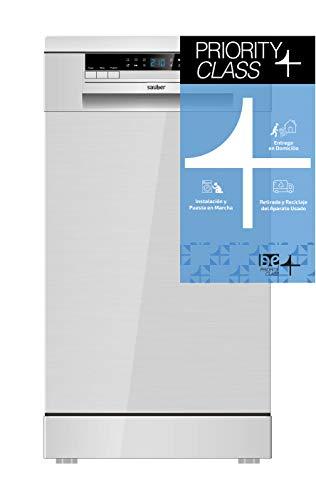 Sauber - Lavavajillas 45 cm SDW45I A++ 11 cubiertos