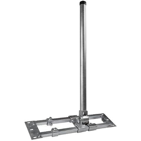 Staffa rafter Herkules 48/900 Acciaio con 48mm Albero 90cm