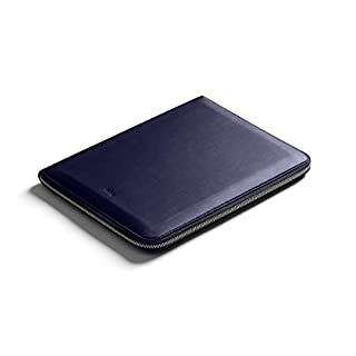 Bellroy Work Folio A4, Work Accessories (A4 Notebook, pens, tech, Cables, Stationery) - Navy