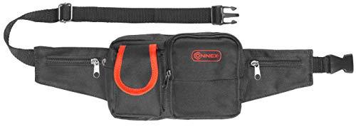 Connex Werkzeug-Gürteltasche - 5 Taschen - Mit Reißverschluss - Aus Polyester - Pflegeleicht/Werkzeugtasche mit Gürtel/Werkzeuggürtel/Gürteltasche mit Hammerhalter / COX952096 (Taschen 5 Mit Reißverschluss)