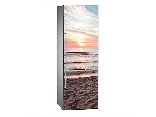 Oedim Vinilo Frigorífico Puesta Sol Playa 185x60cm