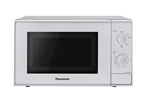 Panasonic NN-E22JMMEPG - Microondas (Encimera, Solo microondas, 20 L, 800 W, Giratorio,...