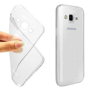 big sale 582c6 baf02 IND COVER Soft Transparent Back Case Cover For Samsung Galaxy J2 Ace  (Transparent)