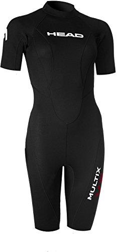 HEAD Multix VS Multisport 2,5 Shorty Suit Damen Black/red Größe S 2019 Triathlon-Bekleidung