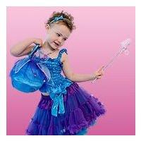 Sugar Pie - Fairy Bag with Bells - Turquoise and Purple (Accesorio de Disfraz)