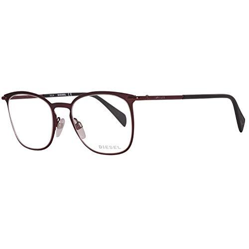 Diesel Damen Brillengestelle Brille DL5164 068 51, Burgunder