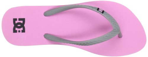 DC Shoes Spray, Tongs femme Rose (Pink)