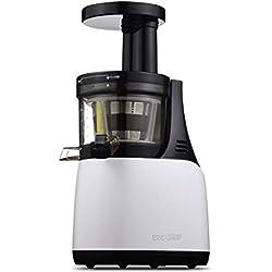 Extracteur de Jus BioChef Synergy - Slow Juicer, Extracteur de Jus sans BPA. Facile à Nettoyer, Garantie 10 ans