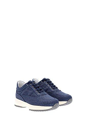 HXC00N00E115N0U206 Hogan Sneakers Bambino Tessuto Blu Blu