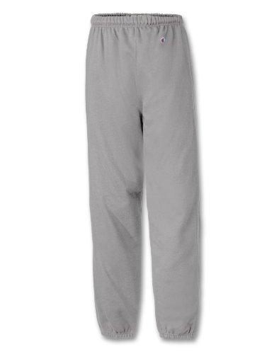 Champion Reverse Weave® Closed-Bottom Men's Sweatpants, 3XL-Silver Gray - Closed Bottom Sweatpant