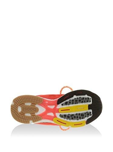 adidas Boostii/Rouge/White, Scarpe Sportive Donna bianco / arancione