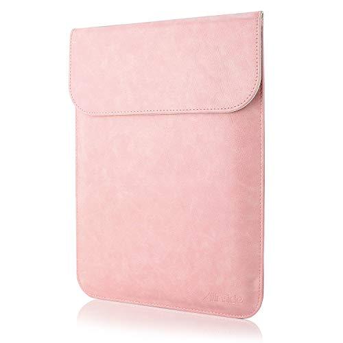 Allinside Hülle Tasche wasserdichte Laptophülle für MacBook 12 Zoll, MacBook Air 11 Zoll, 11-11,6 Zoll Notebook Ultrabook Netbook, Rosa