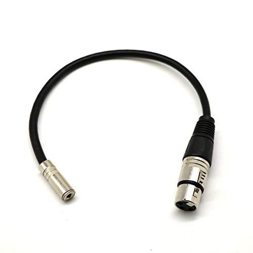 0.2m 1/8 Zoll 3.5 mm 3 Pole Female auf XLR 3 Pin Stecker Stereo Kabel für MP3. Smartphone. Amp. Computer. Lautsprecher - Mp3 Amp
