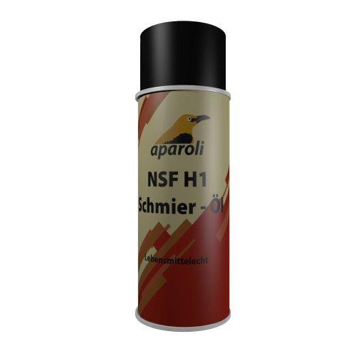 Preisvergleich Produktbild Aparoli 840707 NSF H1 Schmier - Öl, 400 ml, lebensmittelecht