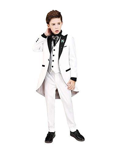 P&G Jungen Anzug DREI Stücke Spitzen Revers Frack Cosplay Kostüm Party (Benutzerdefinierte Kostüm Uniformen)