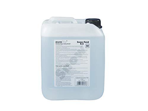Eurolite, S-2, fluido per fare la neve, 5 l. Liquido per neve artificiale. Prodotto in Europa. Liquido di alta qualità per macchine da neve (etichetta in lingua italiana non garantita)