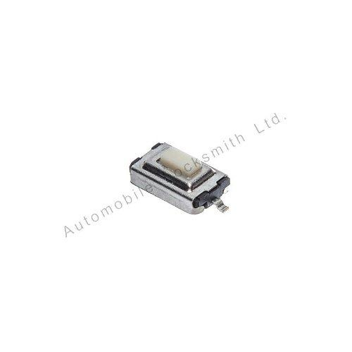 4 interrupteurs tactiles Micro 6 x 3,7 mm 2 Pieds Plateau Blanc