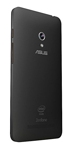 Red Qube Back Replacement Cover For Asus Zenfone 5 -A501 Cg (Black)