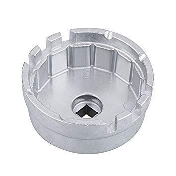 SODIAL Aluminum Werkzeug Zum Entfernen Des ?lfilterschlüssels