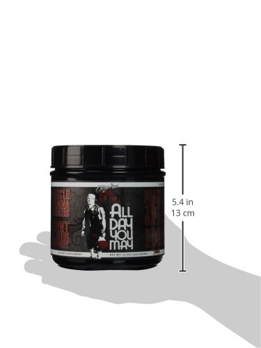 31IvMm7DTcL - 5% Nutrition - Rich Piana All Day You May, Fruit Punch, PER1001/462/101