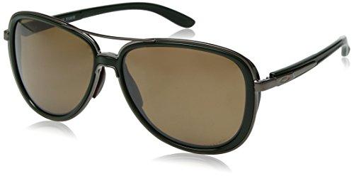 Oakley Damen Split Time 412908 Sonnenbrille, Schwarz (Forest), 58