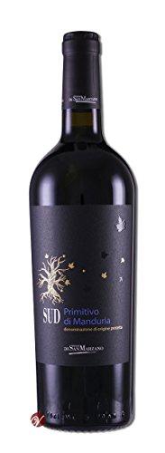 SUD-Primitivo-di-Manduria-DOC-2016-Cantine-San-Marzano-trockener-Rotwein-italienischer-Wein-aus-Apulien-1-x-075-Liter